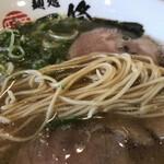 麺処 一修 - バリカタの中細麺