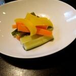 菜香 - サービスのピクルス