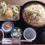 那須蕎麦 山月 - 天盛り蕎麦(1200円)