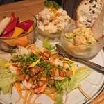 魚ビストロ WAIGAYA - 前菜4種盛り