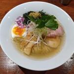 麺酒一照庵 - 鶏中華そばクラム