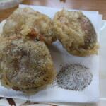 ばん - 椎茸の肉づめ