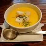 スティック&スプーン - かぼちゃスープ