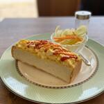 caffe Sole・Luna - モーニング(エッグトースト)