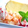 Hommachikafe - 料理写真:もももりベリーアイスシフォンケーキ