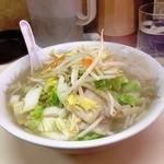中華&洋食 コタン - たんめん 大盛増々の状態でした。