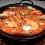 シバリス - 料理写真:本格派のパエリア