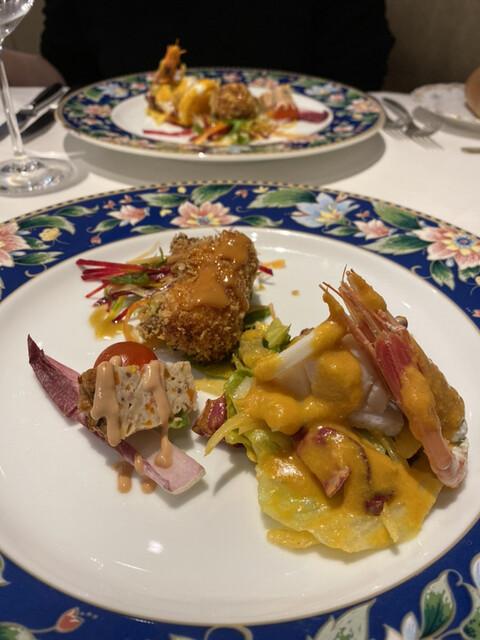 レストラン ラ・カンサトゥールの料理の写真