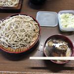 新井屋 - 料理写真:鴨汁大盛そば、800円。