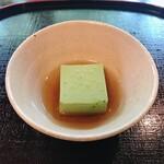平等院表参道 竹林 - 抹茶豆腐