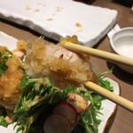 焼き鳥 きんざん - 赤鶏もも肉のたたきポン酢(税込 858円)評価=○