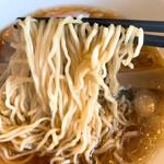 上田屋 - ラーメンの麺