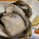 すし居酒屋 日本海 - 隠岐の岩ガキ