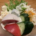 すし居酒屋 日本海 - 野菜サラダ