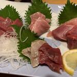 すし居酒屋 日本海 - マグロづくし