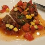 プロヴァンス - 美熊野牛ポシェ。私的には、肉には焼目がある調理法が好きかも。