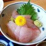 割烹 福寿司 - ちょこっと刺身(アップ)(2020.5)