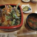 柚圭 - 料理写真:天丼