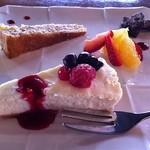 イタリアンガーヴィ - デザートのケーキプレート。