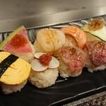 Teppan Dining L'ajitto - 手まり寿司