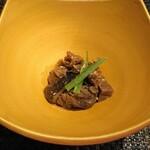 Teppan Dining L'ajitto - 小鉢のしぐれ煮