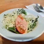 ステイ - ランチ    サラダ&お味噌汁