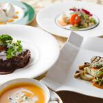 オーベルジュメソン - 料理写真:お肉とお魚のコース一例