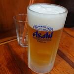 当り矢 - 2020年6月 生ビール 580円