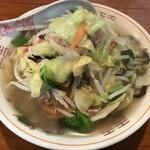 しろやま食堂 - 料理写真:いつものちゃんぽんです。