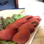 野毛 ☆ 大夢 - 冷やしトマト