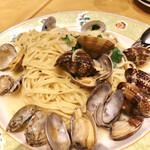 """131899703 - アサリのスパゲッティ""""ボンゴレ""""塩味/1,640円"""