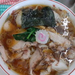 青島食堂 - 青島チャーシュー大盛 麺50円増し