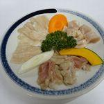 焼肉 高麗苑 - ホルモン3点盛合せ(上ミノ、ホルモン、ギャラ)