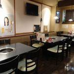 焼肉 高麗苑 - テーブル席