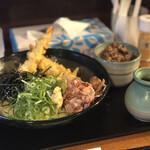 うどん 白木商店 - エビ天ぶっかけ¥850