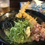 うどん 白木商店 - エビ天ぶっかけ(冷)