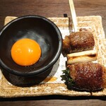 博多串焼と刺身 ココロザシ - 和牛すきやき串