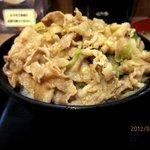 伝説のすた丼屋 - ミニとは言っても普通盛り!(2012,05/27)