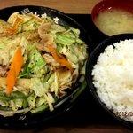 伝説のすた丼屋 - 肉野菜ライス!(2012,05/27)