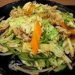 伝説のすた丼屋 - 肉野菜炒めがドーン!(2012,05/27)