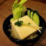 伝説のすた丼屋 - 豆腐サラダ(180円)!(2012,05/27)