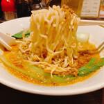 真心ラーメン竹 - 担々麺 中太麺