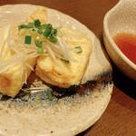 真心ラーメン竹 - 揚げ出し豆腐 350円
