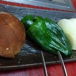 くるま焼肉店 - 野菜セット
