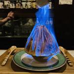 ジェントリー - どうだー⭐️ 燃えるカキ氷 「コーヒーカーニバル」