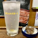 銚子屋 - ドリンク写真:レモンサワーとのマリアージュ♪(^^