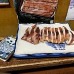 銚子屋 - わさび醤油で(^^