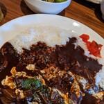 キッチン櫻庭 - ハヤシライス。スープはつかない
