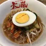 焼肉ホルモン酒場 大嵐 - 冷麺(ハーフ)