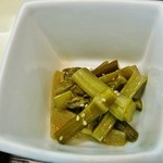 七福 - 「ウドの煮物」美味です